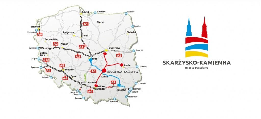 Mapka Skarżysko